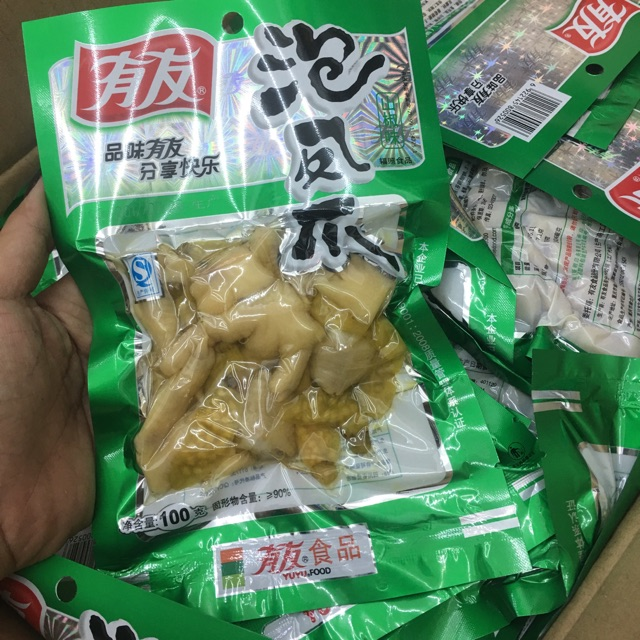 Chân gà yuyu 100g - 3274793 , 425770093 , 322_425770093 , 19900 , Chan-ga-yuyu-100g-322_425770093 , shopee.vn , Chân gà yuyu 100g