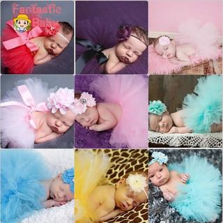 Váy phụ kiện chụp ảnh cho bé gái