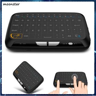 Bàn Phím Không Dây Mini Ms H18 2.4ghz Cho Pc Laptop Smart Android Tv thumbnail