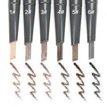 Chì kẻ chân mày 2 đầu The Face Shop Designing Eyebrow Pencil đủ 6 màu có bill