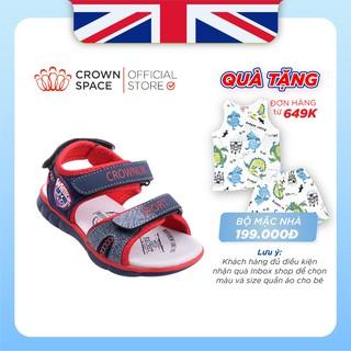 Sandal Đi Học Cho Bé Trai Sản Phẩm Chính Hãng Crown UK CRUK527 Size 26-35/2-14 Tuổi
