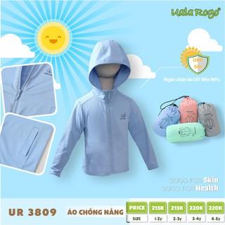 Áo chống nắng trẻ em Ualarogo, áo khoác bé trai, bé gái UR3809