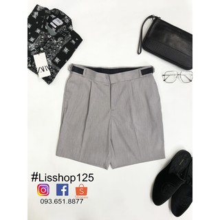 Quần Short Vải TOPMAN Authentic