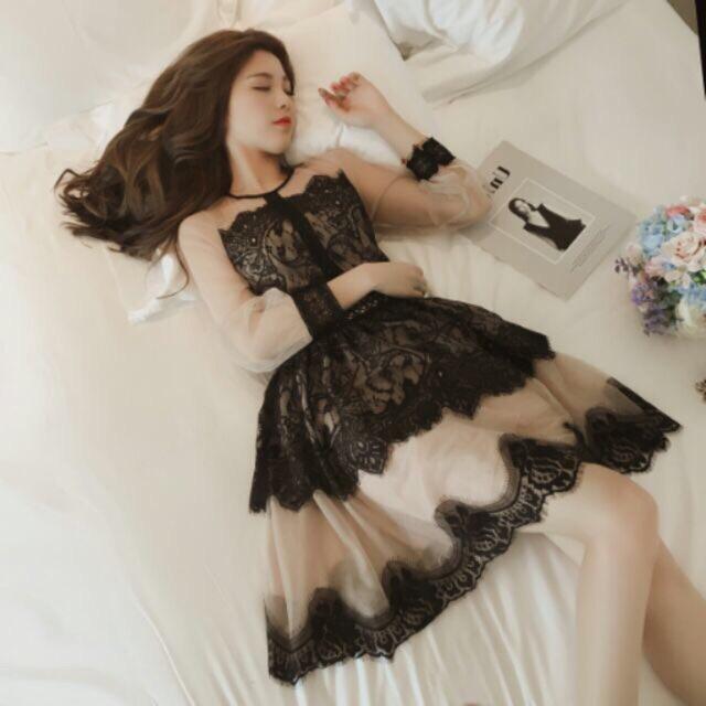 Đầm Ren Nữ Vintage