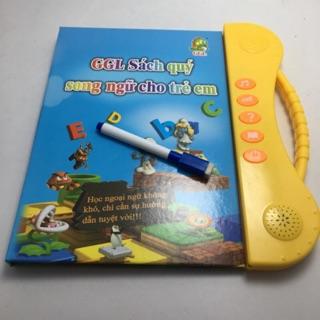 Sách cho bé_Sách Nói Điện Tử Song Ngữ Anh- Việt Giúp Trẻ Học Tốt Tiếng Anh