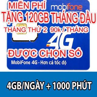 sim 4G mobi C90N 120gb giống v90 số đẹp có 90k trong tài khoản đăng ký miễn phí lên mạng nghe gọi