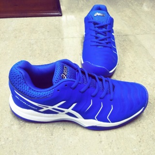 [GIẢM GIÁ 35%] giày tennis asics xuất khẩu ( tặng 1 quấn cán vợt hiệu hammer của hàn quốc)