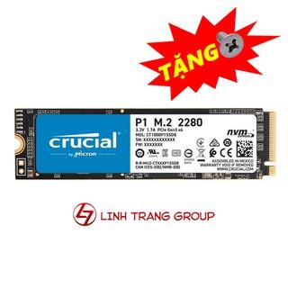 Ổ cứng SSD M.2 PCIe NVMe Crucial P1 500GB 1000GB - bảo hành 5 năm