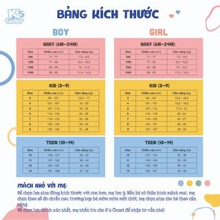 Hình ảnh Áo Phông Cộc Tay Bé Trai (1-6 Tuổi) K's Closet B001TES / B023TES HD-8