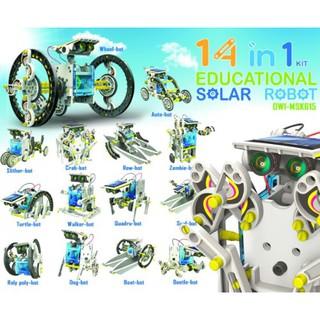 Đồ chơi tư duy lắp ráp robot thám hiểm vũ trụ 14 in 1 chính hãng