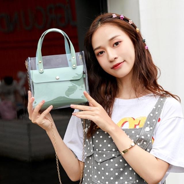 Túi xách đeo chéo nữ Hàn Quốc đẹp 2020 ZUZU DC79