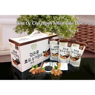 Sữa hạt Hàn Quốc ít đường Thùng 20 bịch 190ml (kèm ống hút tiện lợi)