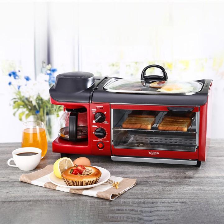 Máy ăn sáng đa chức năng (Lò nướng, đun nước, bếp rán)