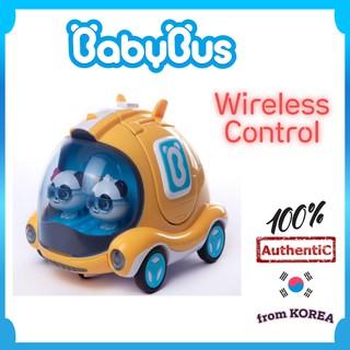 [KOREMIUM] BabyBus Wireless Control Rescue Bus Korea Kids Toy, Đồ chơi trẻ em Hàn Quốc của xe buýt cứu hộ không dây BabyBus