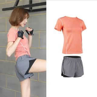 Yêu Thích[Mã WANOV30 hoàn 15% xu đơn 99k] Bộ quần áo tập gym yoga nhiều màu cao cấp qs2019