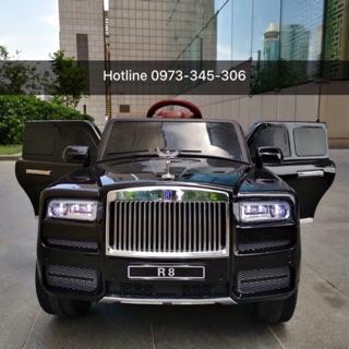 Ô tô điện trẻ em cao cấp Rolls-Royce LB-R8 4 động cơ ghế da – DH STORE