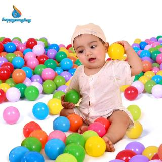 Colorful Soft Plastic Ocean Water Pool Ball Funny Baby Kid Swim Pit Toy