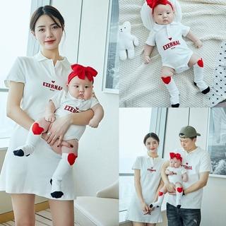 Áo gia đình Familylove - Đồng phục gia đình họa tiết chữ EIERNAL chất cotton 100% cao cấp siêu mềm mịn thumbnail