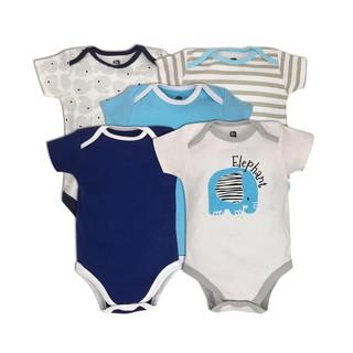 [GenevieveStore2211]Combo 5 bộ bodysuit hàng VNXK chất cotton siêu mềm mịn thoáng mát, an toàn cho bé yêu