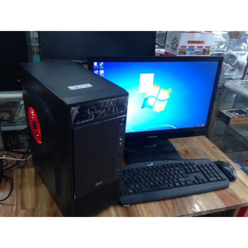 Máy bộ chơi Game CPU i3 4130 8G 120G SSD GT750 LCD 20 inch.