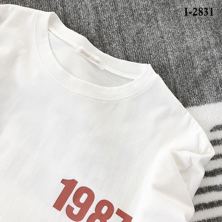 i2831 - ÁO THUN NĂM SINH LOGO
