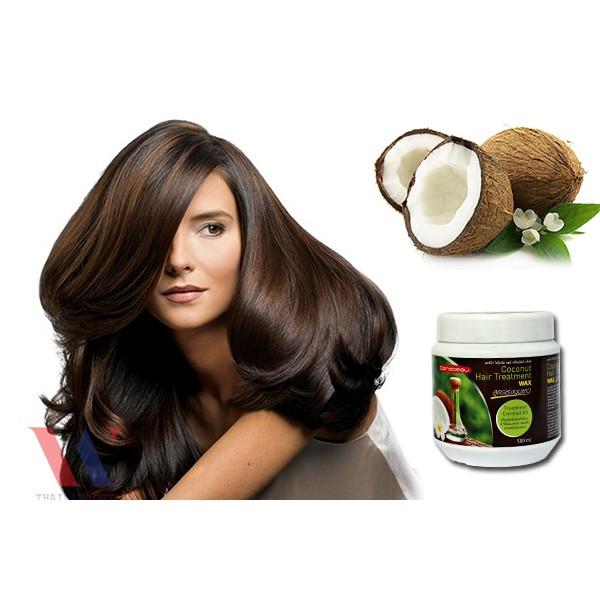 ⛔GIADUNGHOANGMAI⛔ Kem hấp dầu và ủ dưỡng tóc tinh dầu Dừa non