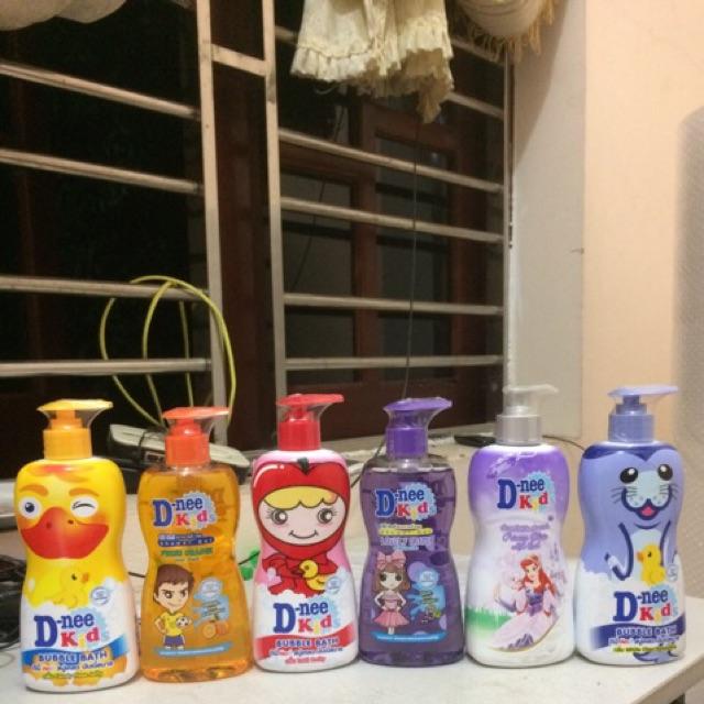 Sữa tắm gội hoa quả D-nee kids 400ml Thái Lan