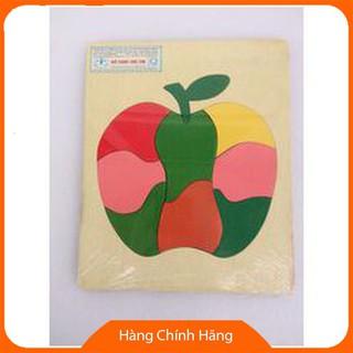 Đồ chơi gỗ – Tranh ghép hình quả táo- VNG17_Hàng cao cấp