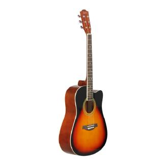41inch Basswood Guitar Cutaway Guitar Wooden Fingerboard Acoustic Guitarra Musical Instrument