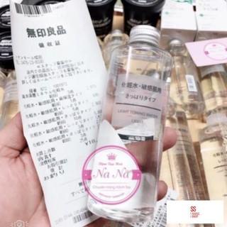 Nước hoa hồng Muji 200ml Nhật Bản