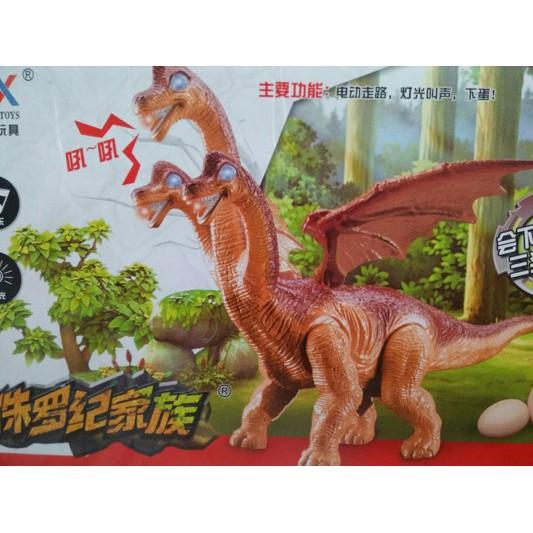 Đồ chơi khủng long biết đi,có nhạc đèn đẻ trứng(loại to)