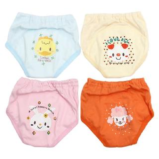 4 X Baby Toddler Girls Boys Cute 4 Layers Waterproof Potty Training Pants reusable 6-12m