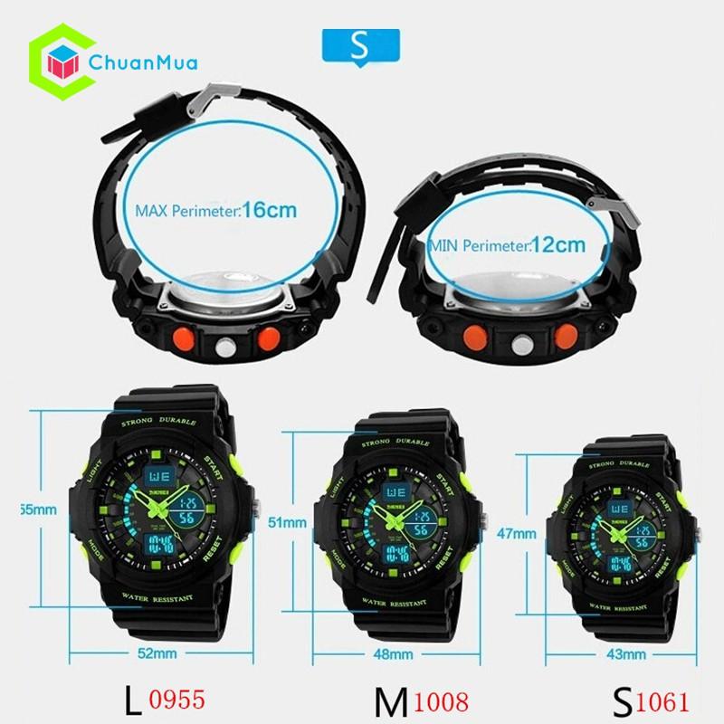 Đồng hồ Bé Trai Skmei 1061 Strong Durable Size Nhỏ