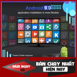 SALE SALE # Android TV Box EM95s – Amlogic S905X3, 4GB Ram, 32GB bộ nhớ trong, Android 9 # SALE SALE