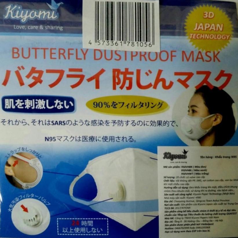 Khẩu trang Kiyomi N95
