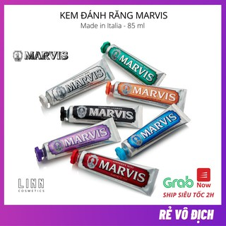Kem đánh trắng răng cao cấp Marvis 85ml – Italia