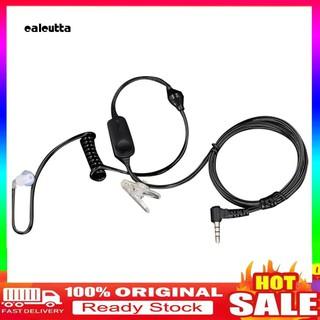 Dây tai nghe điện đàm Xiao-mi có kẹp giắc cắm 3.5mm tiện dụng cho hoạt động ngoài trời