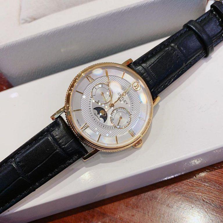 Đồng hồ nam dây da Bentley BL1865 BL1865-30 BL1865-30MKWB