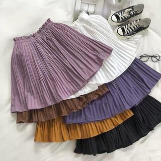 Chân váy xòe thời trang nữ cạp nhún xinh xắn CV248 thumbnail