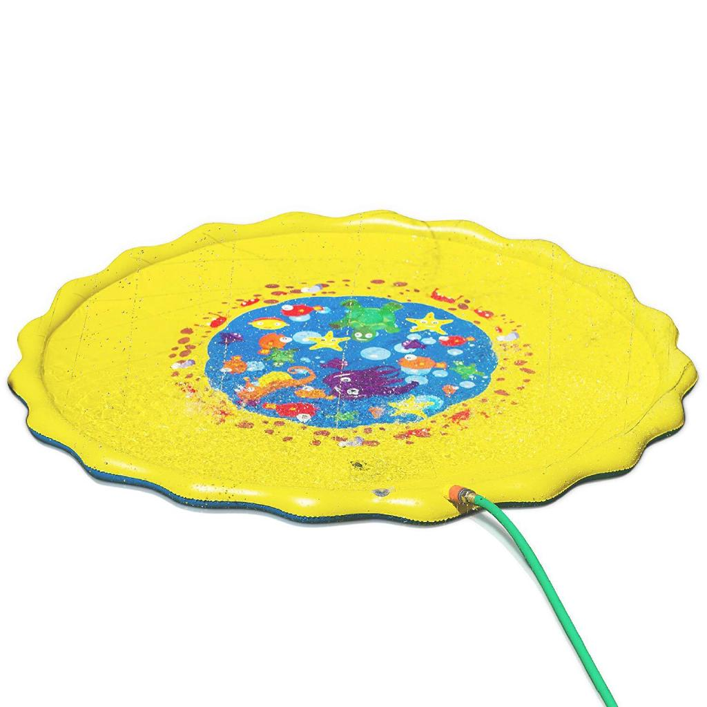 170CM Diameter Kids Water Spraying Game Mat Toy