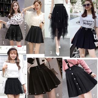 Chân váy xòe học sinh tổng hợp nhiều mẫu dễ thương, phong cách Hàn Quốc cho các bạn teen mặc đi học, đi chơi