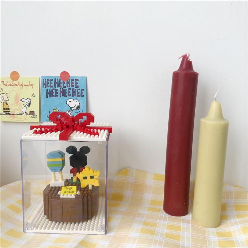 <24h Lô hàng>W&G  Món quà sinh nhật bánh kem lắp ráp đồ chơi trang trí