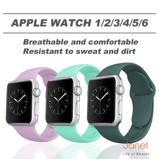 Dây Đeo Silicon 2021 Cho Đồng Hồ Thông Minh Apple Watch 38 / 4042 / 44mm