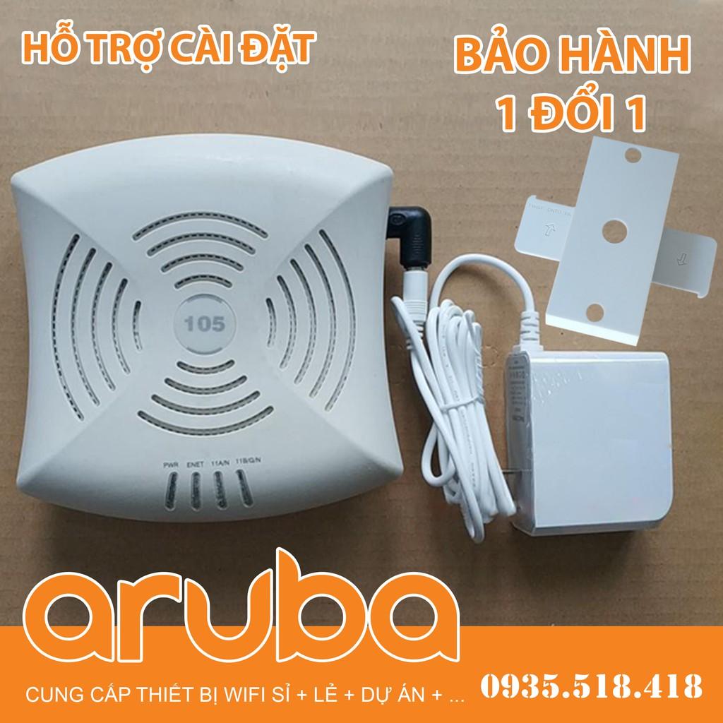 Bộ phát Wifi Mesh ARUBA AP/IAP 105 RW chuyên dụng hàng khủng chịu tải 24/7 cho shop, quan cafe, văn phòng, ...