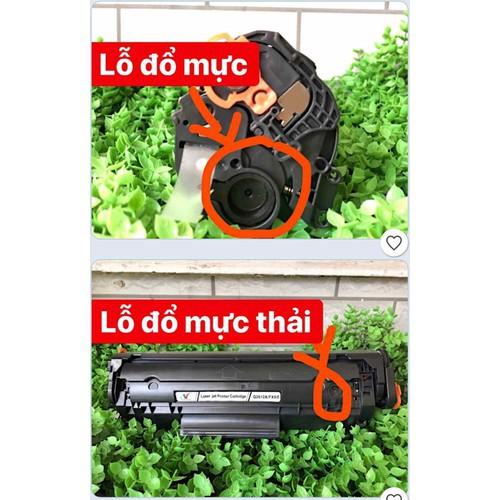 Hộp mực 12A_Canon 303_Fx9 nhập khẩu 2 lỗ đổ tiện dụng cho mọi nhà