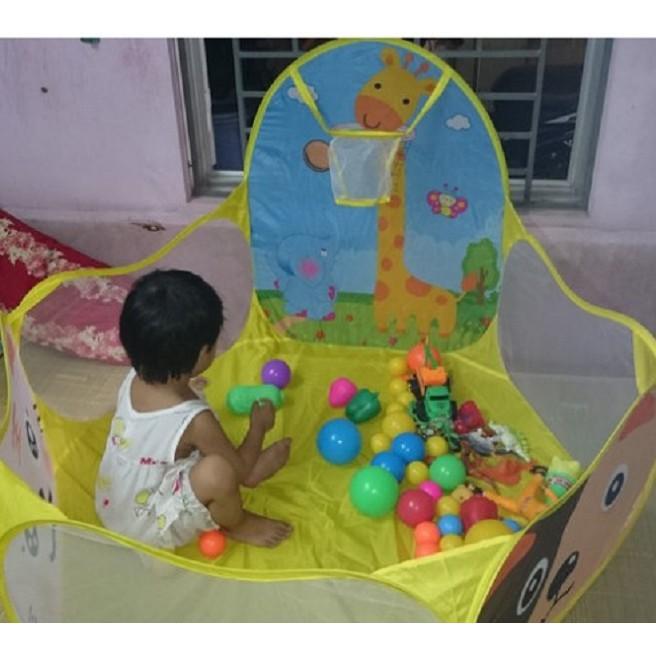 [Xả Kho Giá Gốc] Nhà bóng lều bóng tặng kèm 100 quả bóng nhựa cho bé [Hàng siêu đẹp,chất lượng...