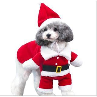 Bộ quần áo giáng sinh cho thú cưng