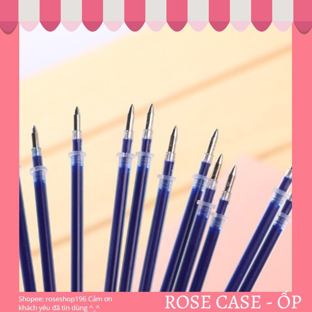 Combo 50 ngòi ruột bút bi nước thay vào bút cute và bút chữ A