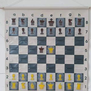 Bộ cờ vua treo cho giáo viên dạy cờ vua