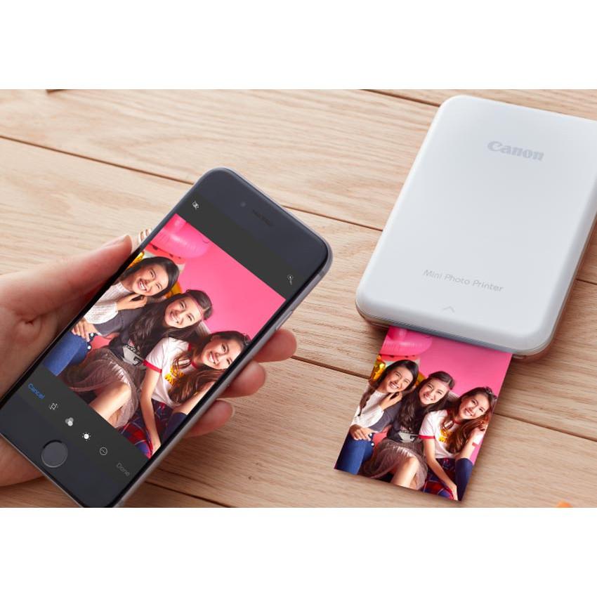 [Nhập ELCL40K hoàn 40K xu đơn từ 300K] Máy in ảnh Canon Mini Photo Printer PV-123